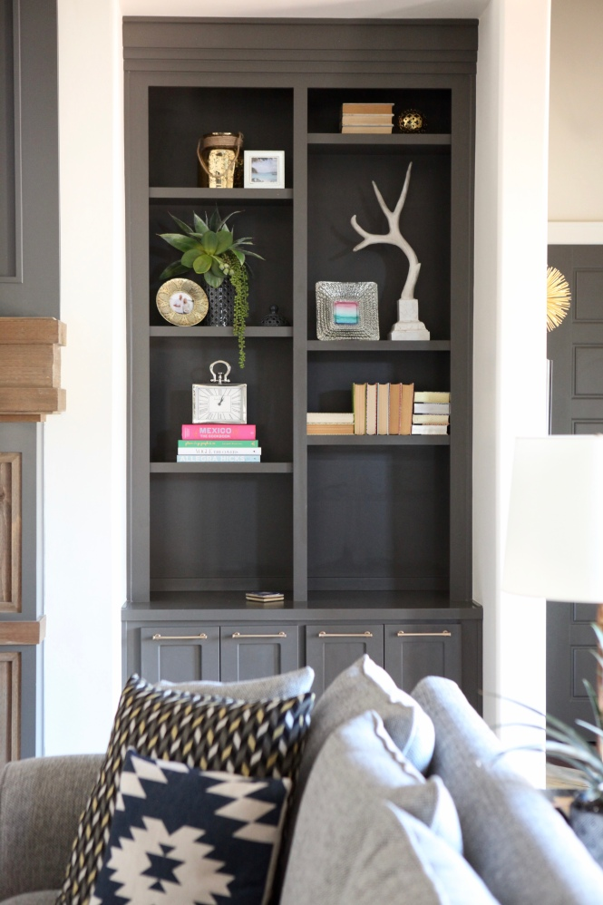 bookcase styling, bookcases, coffee table books