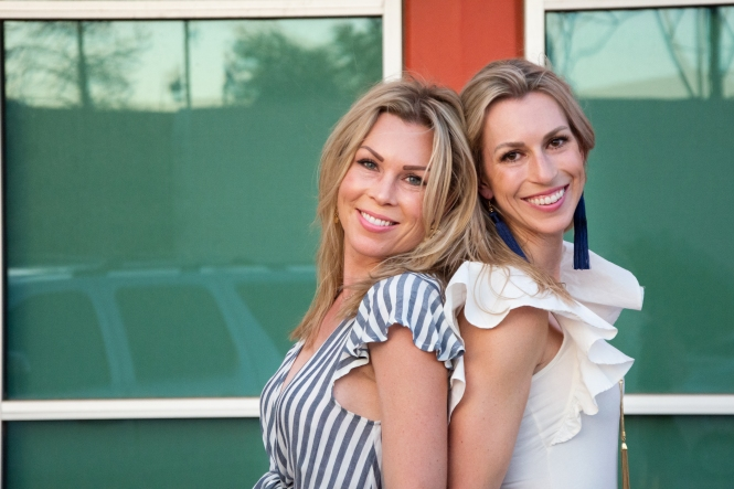Topknots & Takeout lifestyle bloggers Christiane and Erica of Lubbock and Fort Worth Texas